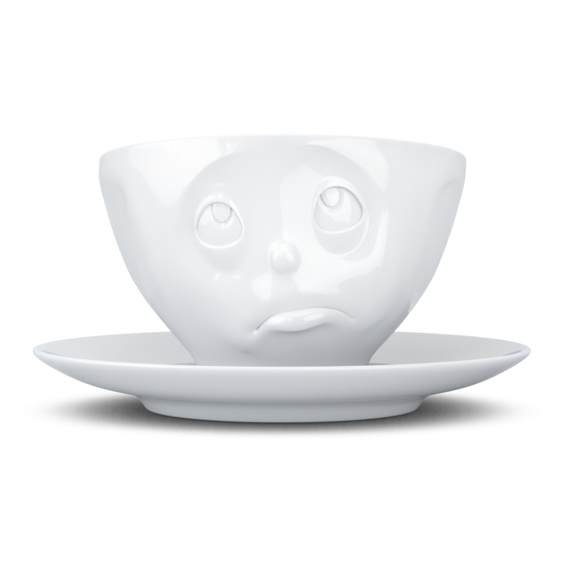 """FIFTYEIGHT Coffee Cup """"Oh please"""""""