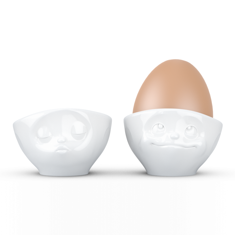 "FIFTYEIGHT Egg Cup Set No.1 ""Dreamy & Kissing"""
