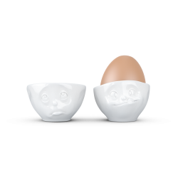 "FIFTYEIGHT Egg Cup Set No.2 ""Oh please & Tasty"""