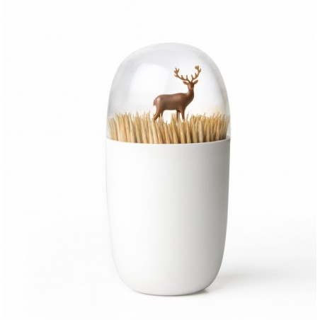 Qualy Reindeer Meadow Toothpick Holder