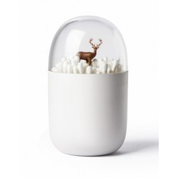 Qualy Reindeer Meadow Cotton Bud Holder