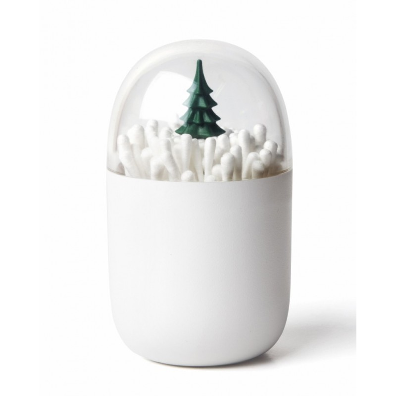 Qualy Christmas Tree Cotton Bud Holder
