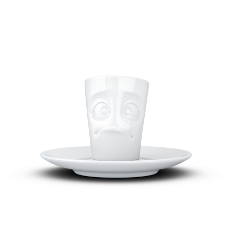 """FIFTYEIGHT Espresso Mug """"Baffled"""""""