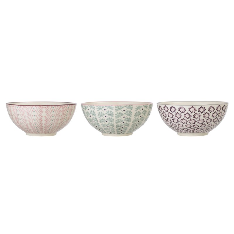 Bloomingville Maya Bowl Multi-color (set van 3)