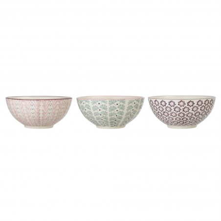 Bloomingville Maya Bowl Multi-color (set of 3)