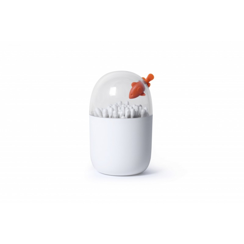 Qualy Clownfish Cotton Bud Holder