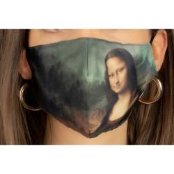 Loqi Mondmasker Leonardo Da Vinci - Mona Lisa
