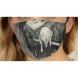 Loqi Mouth Mask Edvard Munch - Scream