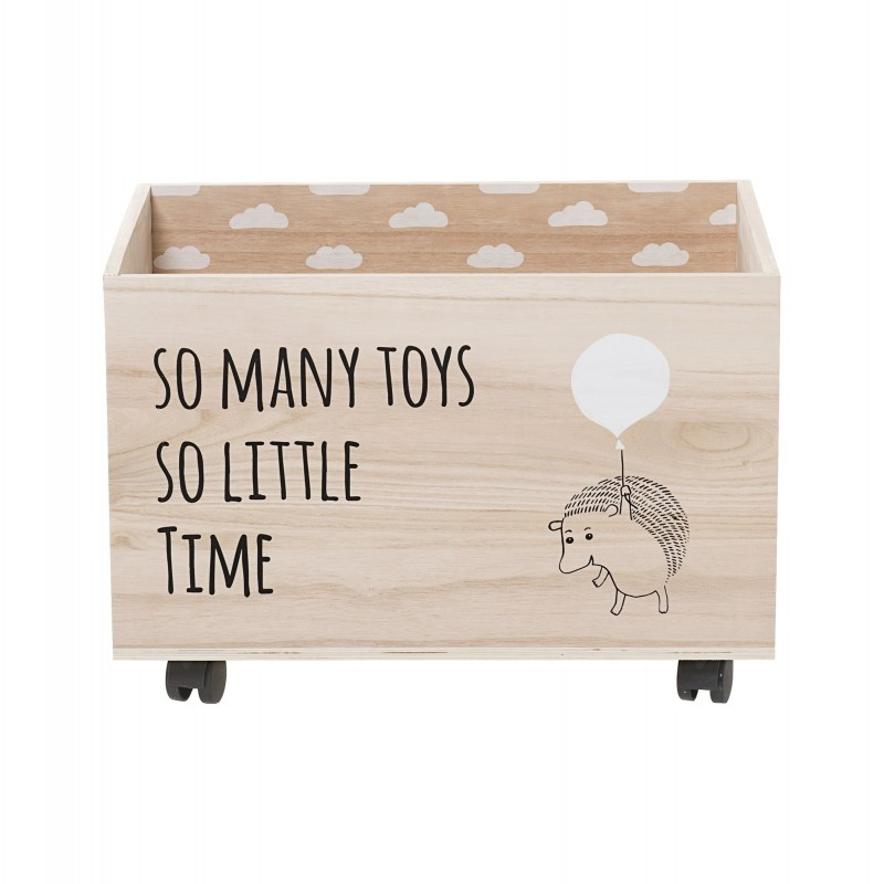 Bloomingville Storage Box with wheels - Jassin