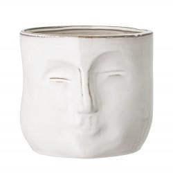 Bloomingville Pot de Fleurs - Blanc