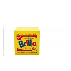 Quinze & Milan ANDY WARHOL BRILLO POUF - Yellow