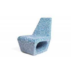 Quinze & Milan Jellyfish Ecopixel Chair - Delfts Blue