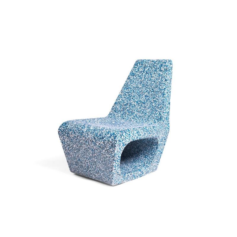 Quinze & Milan Jellyfish Ecopixel Chair - Delfts Blue