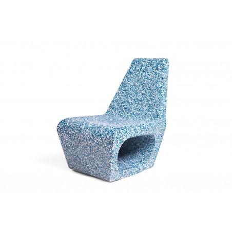 Quinze & Milan Jellyfish Ecopixel Chair - Delfts Bleu