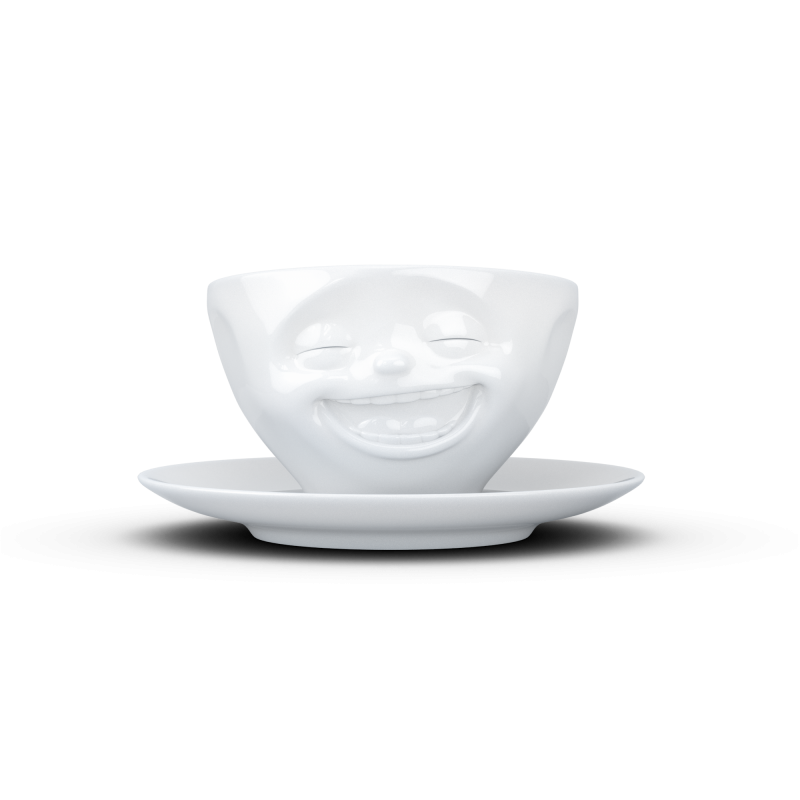 FIFTYEIGHT Coffee Cup Laughing