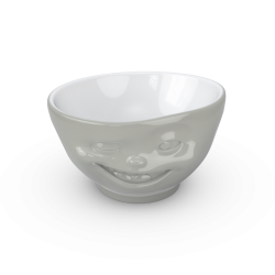 "FIFTYEIGHT Bowl ""Winking"" - Grey - 500ml"