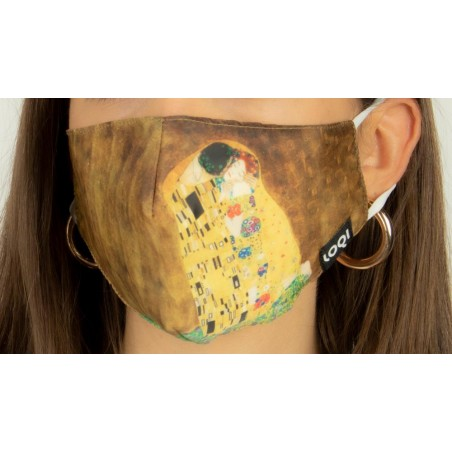 Loqi Mouth Mask Gustav Klimt - The Kiss