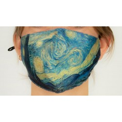 Loqi Mouth Mask Vincent van Gogh - Starry Night