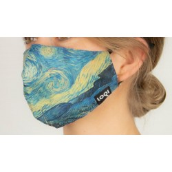 Loqi Mondmasker Vincent van Gogh - Starry Night