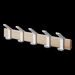 Yamazaki Wall Coat Rack Rin Beige