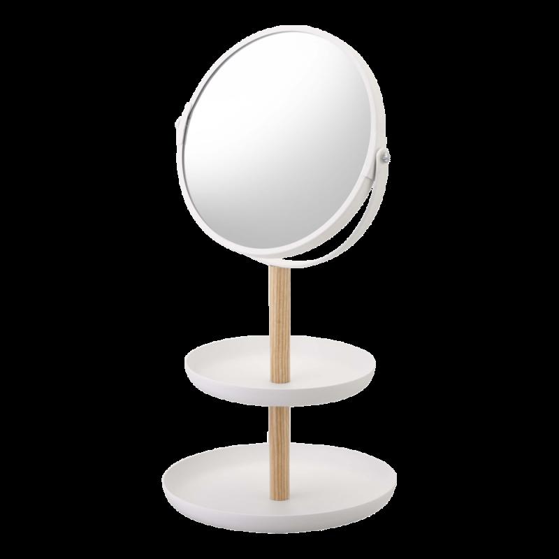 Yamazaki Accessories Tray & Mirror Tosca
