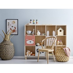 Bloomingville Calle Bookcase w/Drawers