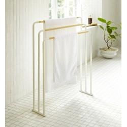 Yamazaki Bath Towel Hanger Plain White