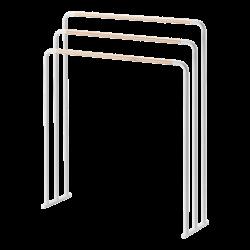 Yamazaki Porte-serviettes de Bain Plain Blanc
