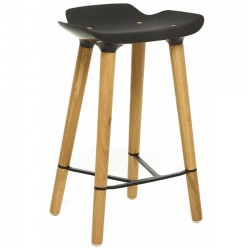 Quinze & Milan Pilot Stool Kitchen black