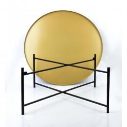 Mondex salontafel LUCAS zwart&goud