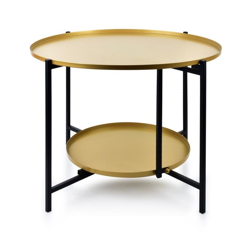 Mondex table 2 niveaus LUCAS noir&or