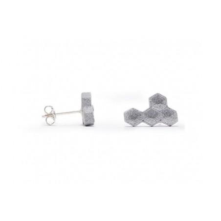 Angular Hexa Earring Aluminum