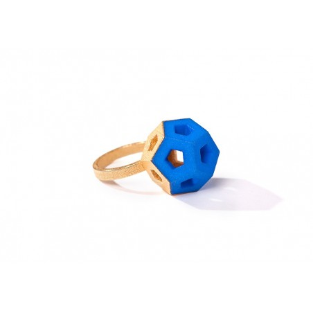 Angular Monogold Ring.05