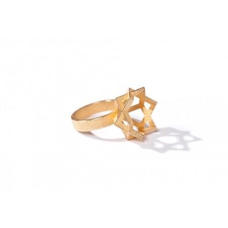 Angular Monogold Ring.07