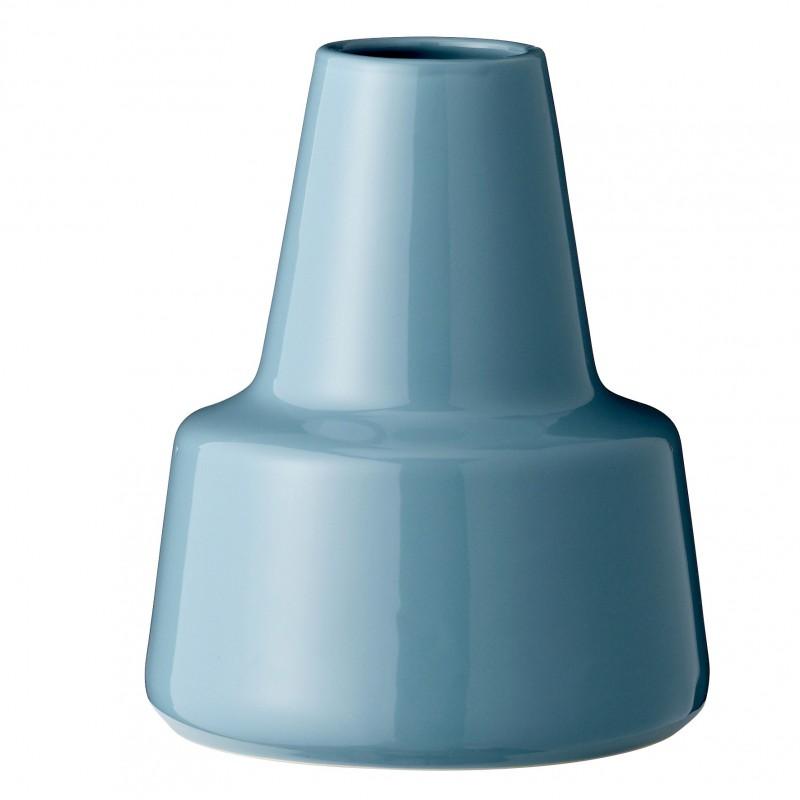 Bloomingville Vase Cone Petrol