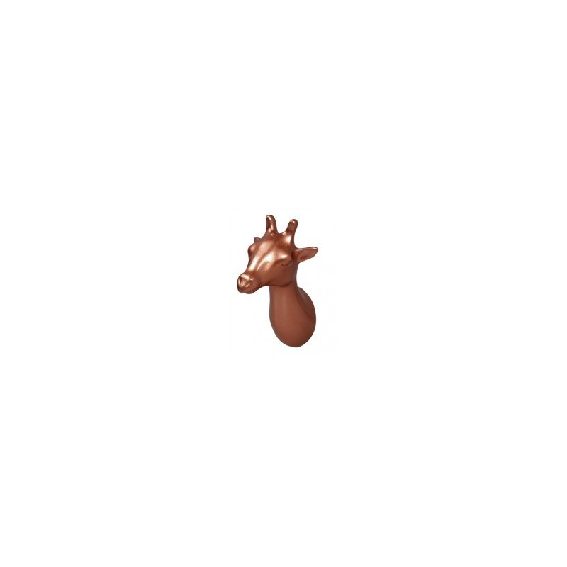 The ZOO Coat Hook Giraffe - Copper