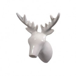 The ZOO Coat Hook Dear Deer - White