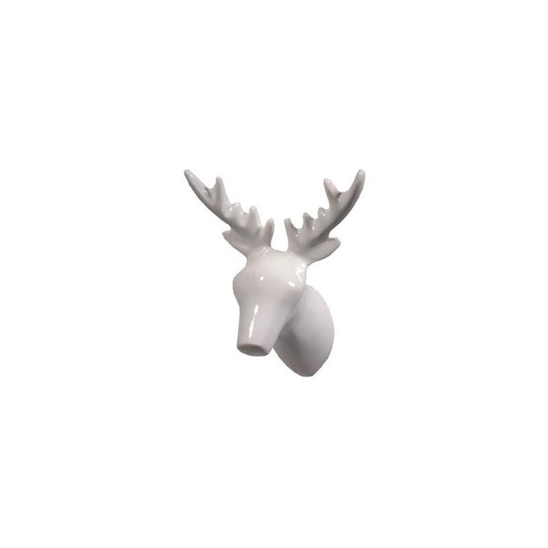 The ZOO Coat Hook Dear Deer - White