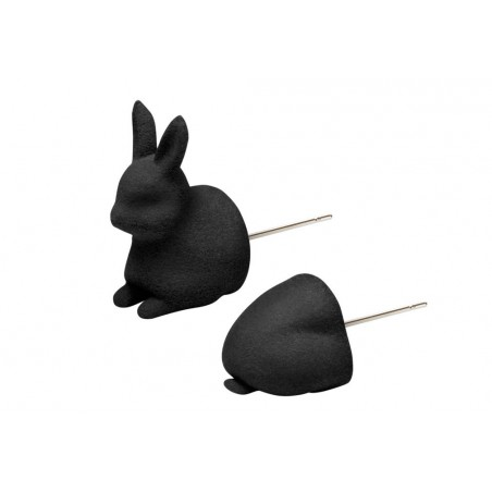 MC Bunny hop Head & Behind - Noir
