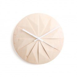 Pana Objects Shady Horloge Murale - blanc