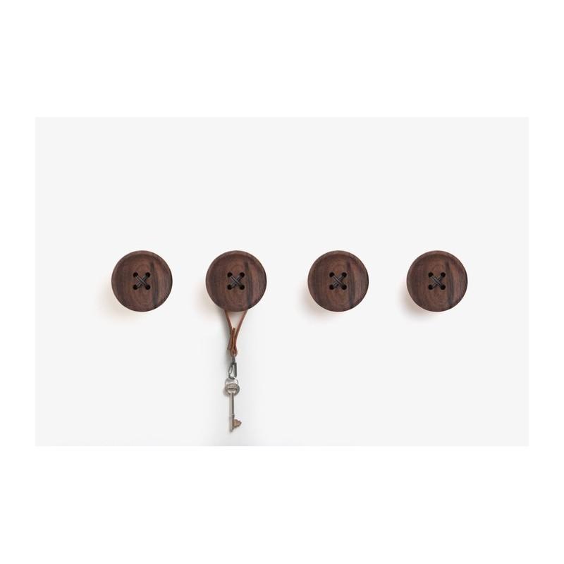 Pana Objects Snappi Wall Hanger - Walnut