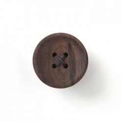 Pana Objects Snappi Wall Hanger - Walnut (1 piece)