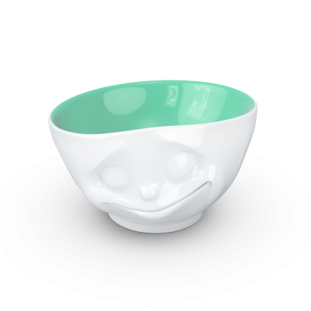 "FIFTYEIGHT Bowl ""happy"" jade inside - 500ml"