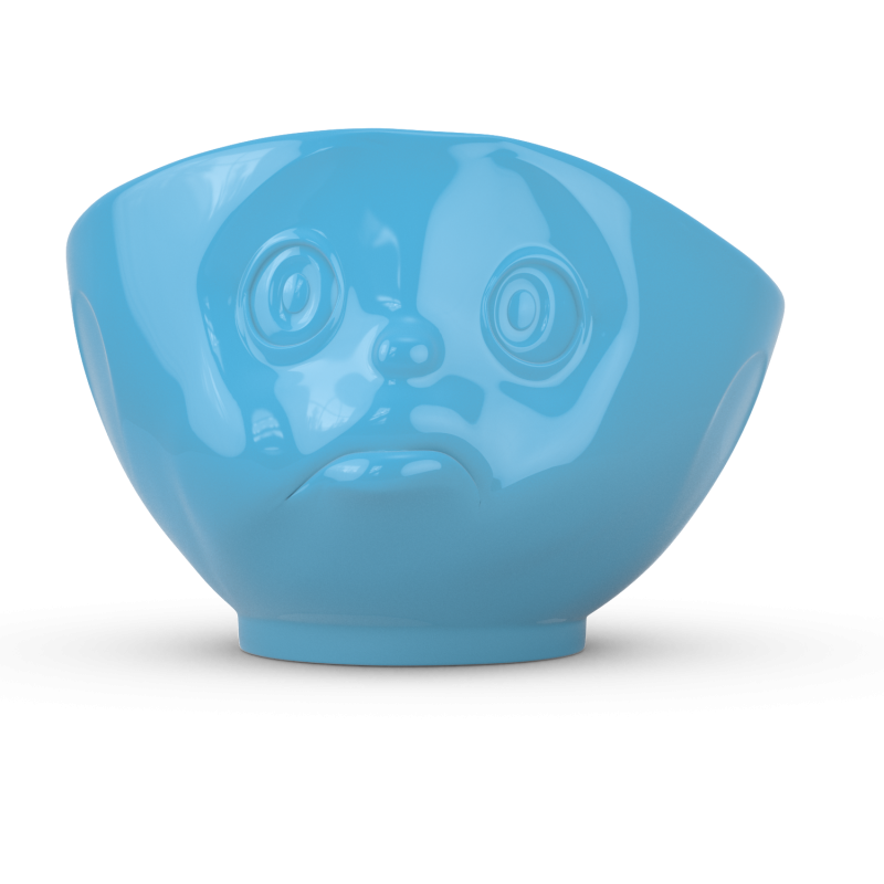 "FIFTYEIGHT Kom ""Pruilerig"" - Blauw - 500ml"