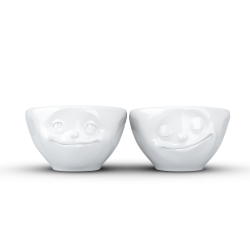 "FIFTYEIGHT Small Bowl Set ""Dreamy & Happy"""
