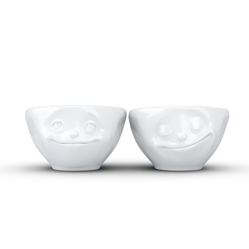 """FIFTYEIGHT Small Bowl Set """"Dreamy & Happy"""""""