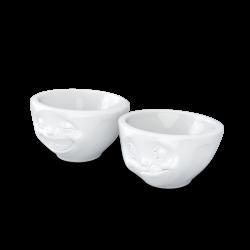 FIFTYEIGHT Bowl, kissing, white