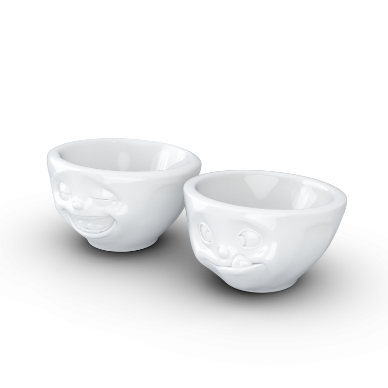 FIFTYEIGHT Bowl, kissing, white