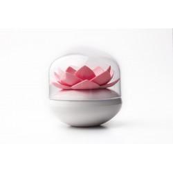 Qualy Lotus Wattenstaafjeshouder - Roze