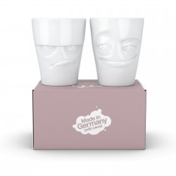 FIFTYEIGHT Cup, happy, white